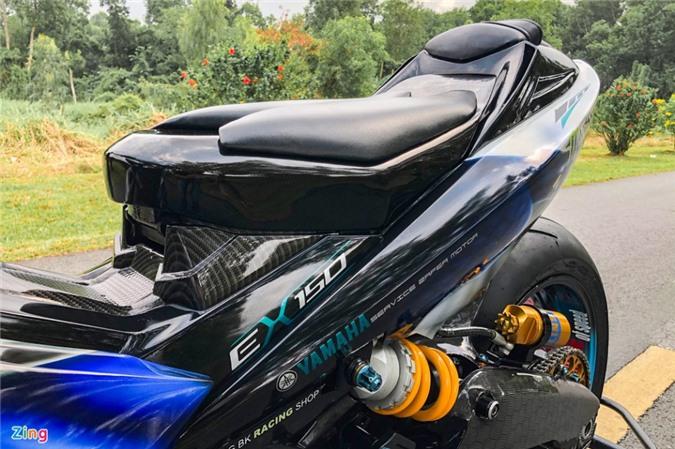 Yamaha Exciter độ phong cách Ducati Panigale V4 của biker Quảng Ngãi ảnh 16