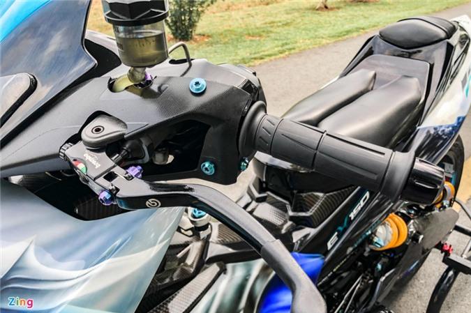 Yamaha Exciter độ phong cách Ducati Panigale V4 của biker Quảng Ngãi ảnh 17