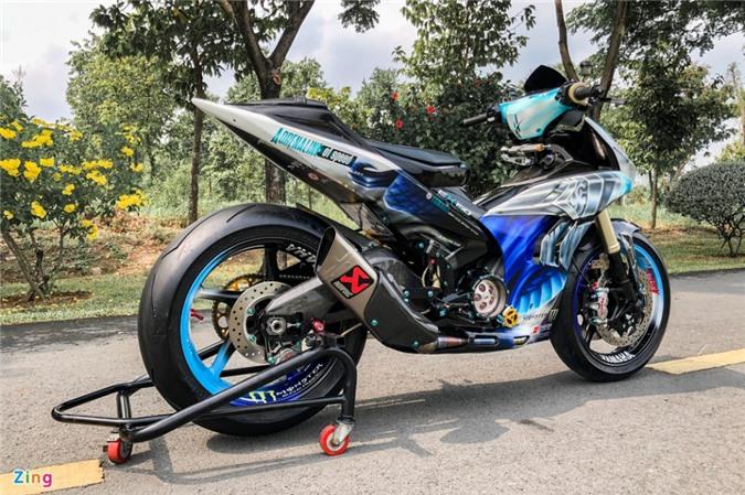 Yamaha Exciter độ phong cách Ducati Panigale V4 của biker Quảng Ngãi ảnh 18