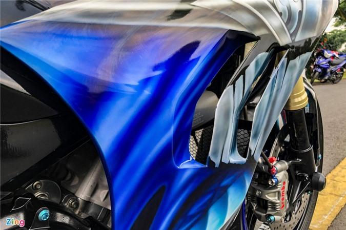 Yamaha Exciter độ phong cách Ducati Panigale V4 của biker Quảng Ngãi ảnh 04
