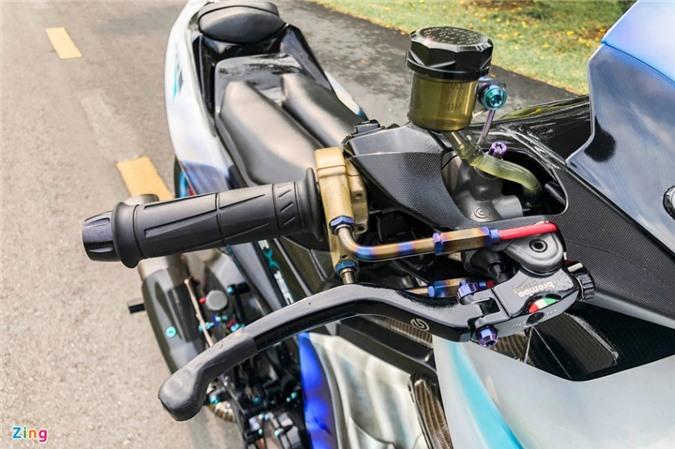 Yamaha Exciter độ phong cách Ducati Panigale V4 của biker Quảng Ngãi ảnh 06