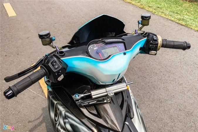 Yamaha Exciter độ phong cách Ducati Panigale V4 của biker Quảng Ngãi ảnh 07