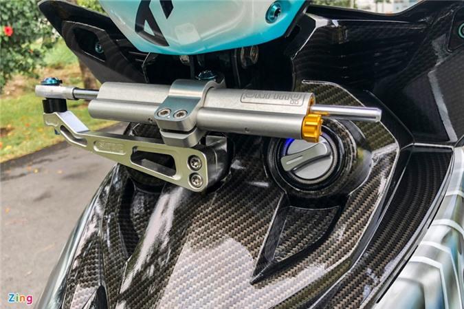 Yamaha Exciter độ phong cách Ducati Panigale V4 của biker Quảng Ngãi ảnh 08