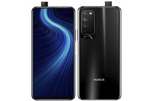 Sức mạnh phần cứng của Honor X10 5G đến từ chip HiSilicon Kirin 820 5G (7 nm) lõi 8 với tốc độ tối đa 2,36 GHz, GPU Mali-G57 6 nhân. Vi xử lý này được tích hợp modem thu sóng 5G. RAM 6 GB/ROM 64 GB, RAM 6 GB/ROM 128 GB hoặc RAM 8 GB/ROM 128 GB, có khay cắm thẻ nanoSD với dung lượng tối đa 256 GB. Hệ điều hành Android 10.0, được tùy biến trên giao diện Magic UI 3.1 nhưng không có Google Play.