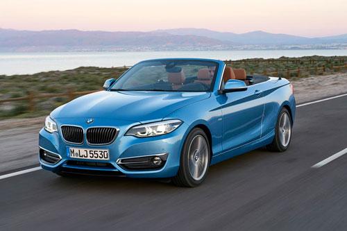 6. BMW 2-Series Convertible.