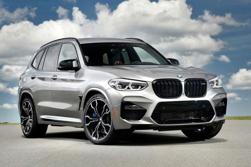 8. BMW X3 M và X4 M Competition.