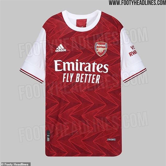 Những chiếc áo đấu được cho của Arsenal nhan nhản trên mạng xã hội