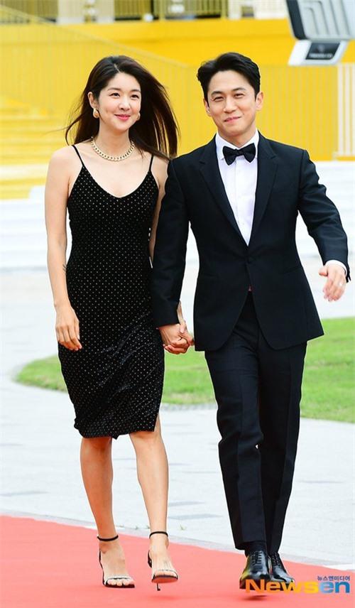 Vợ chồng Kim Bin Woo và Jeon Yong Jin cũng góp mặt tại sự kiện.