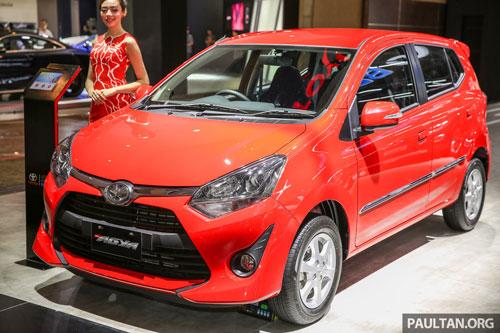 10. Toyota Agya (doanh số: 250 chiếc).
