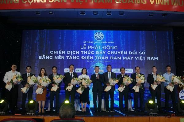 Bộ TT&TT phát động chiến dịch thúc đẩy chuyển đổi số bằng nền tảng điện toán đám mây Việt Nam.