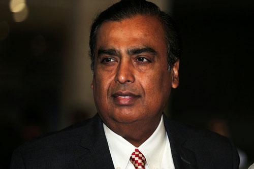 Tỷ phú Mukesh Ambani.