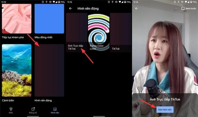 Cách đặt video TikTok làm hình nền iPhone và Android