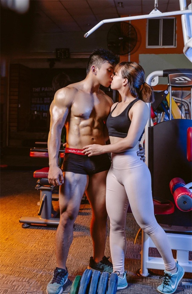 Nguyên tắc ngầm giúp cặp đôi mê gym ươm mầm tình yêu - 2