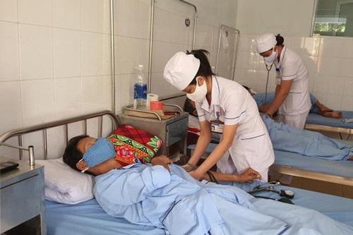 Có trên 1.000 trường hợp mắc sốt xuất huyết tại Quảng Bình. (Ảnh: Dân trí)
