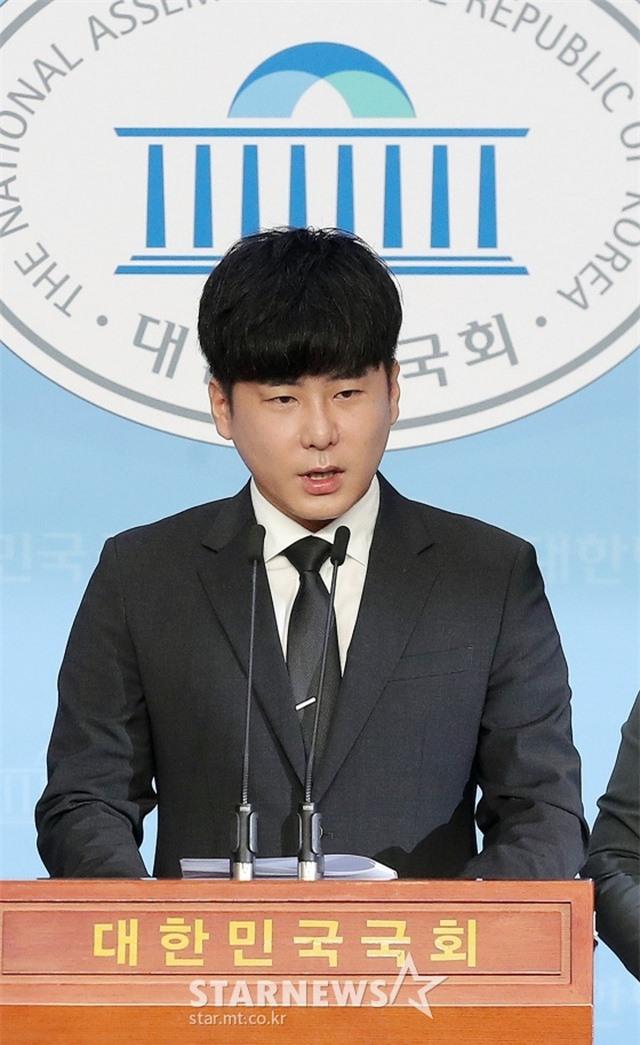 Anh trai Goo Hara mở họp báo, buồn bã vì Đạo luật Hara bị bác bỏ - 5
