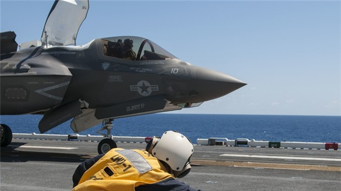 Tiem kich F-35 thieu linh kien, Tong thong Trump do loi cho ong Obama-Hinh-2