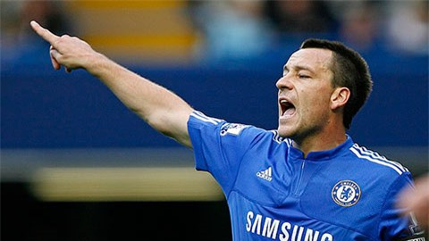 Terry là đội trưởng hoàn hảo nhất Premier League mọi thời đại