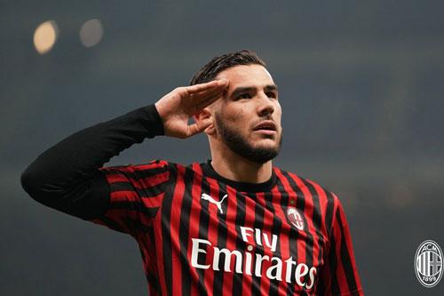 =6. Theo Hernandez (AC Milan - 5 bàn thắng).
