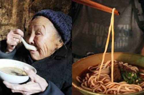 Bà lão mỗi ngày chỉ bán 100 bát mì, vị khách nghi ngờ lao vào nhà bếp, cuối cùng phát hiện bí mật