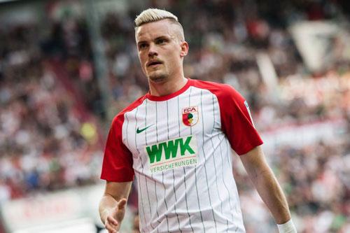 =1. Philipp Max (Augsburg - 7 bàn thắng).