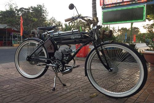 """Ngắm xe đạp hoài cổ Craftsman 1924 45 triêu của """"dân chơi"""" Đồng Tháp"""