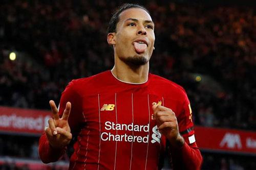 =9. Virgil Van Dijk (Liverpool - 4 bàn thắng).