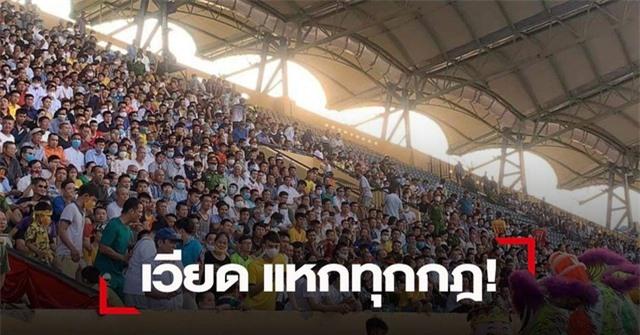 Báo Thái Lan sốc vì cảnh chen chúc xem đá bóng ở Việt Nam - 1