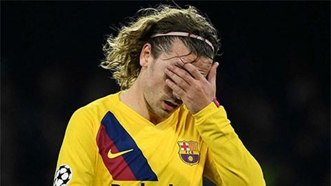 Griezmann là tân binh gây thất vọng tiếp theo của Barca