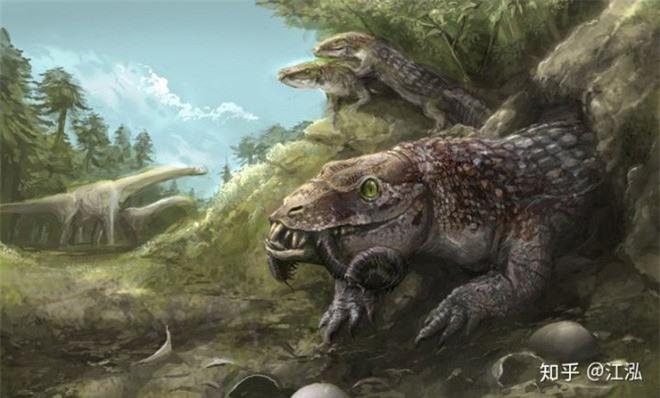 Các nhà cổ sinh vật học phát hiện ra loài bò sát lắm mồm nhất kỷ Phấn trắng - Ảnh 12.