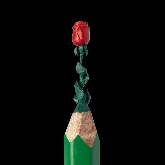 Ngỡ ngàng với loạt tác phẩm điêu khắc bé tí ti trên đầu bút chì - Ảnh 25.