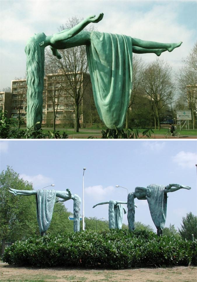 Những bức tượng kỳ dị thách thức tất cả các quy luật vật lý, khiến người ta có cảm giác càng nhìn càng thấy sợ hãi - Ảnh 12.