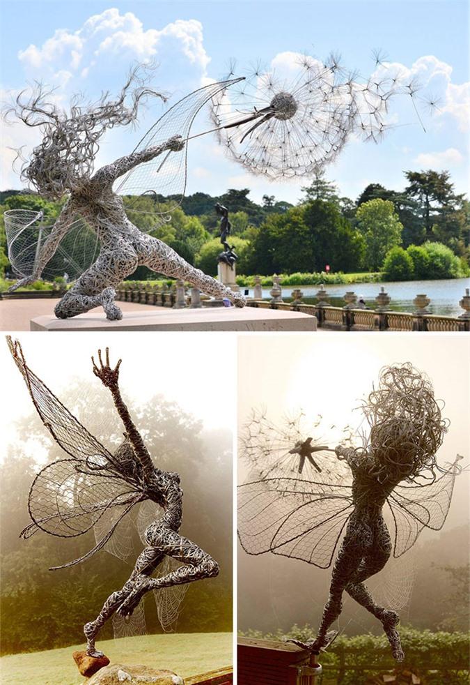 Những bức tượng kỳ dị thách thức tất cả các quy luật vật lý, khiến người ta có cảm giác càng nhìn càng thấy sợ hãi - Ảnh 2.