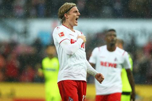 =6. Sebastiaan Bornauw (Cologne - 5 bàn thắng).