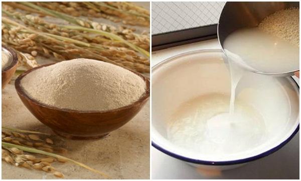 Tác dụng của nước vo gạo với sức khỏe sắc đẹp