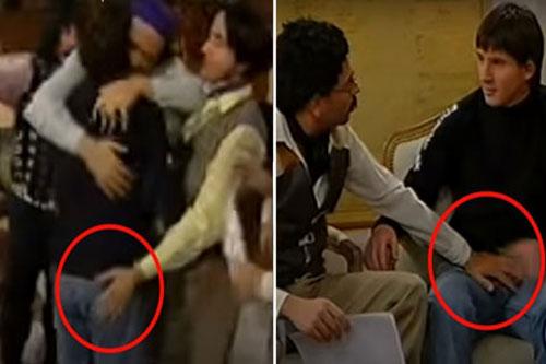 """Messi trong chương trình hài hước """"Có 2 không có 3"""" của đài truyền hình Argentina."""