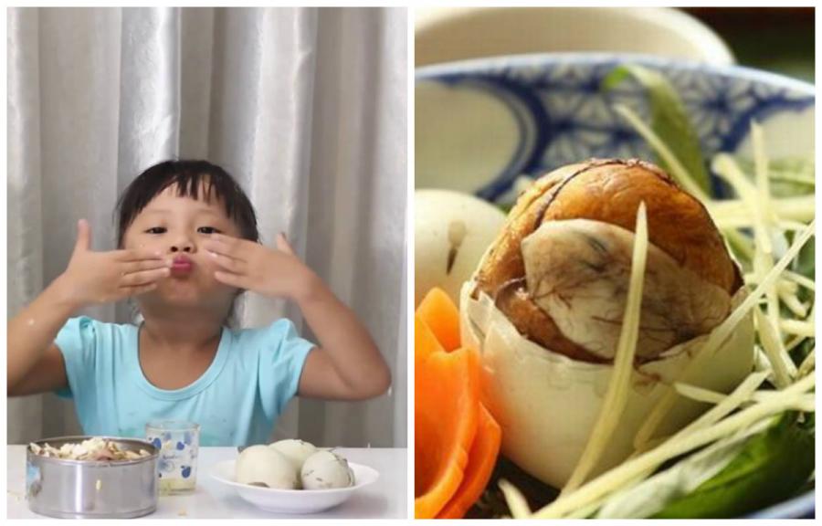 Chuyên gia chia sẻ cách cho trẻ ăn trứng vịt lộn đúng cách