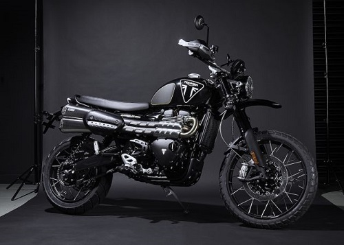 2020 Triumph Scrambler 1200 Bond Edition.