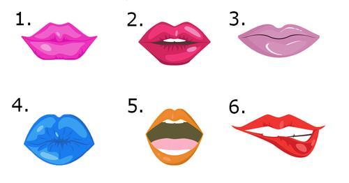 Bạn thích nhất đôi môi nào?