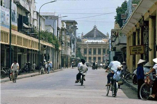 Những bức ảnh hiếm hoi về Hà Nội cuối thời kỳ bao cấp