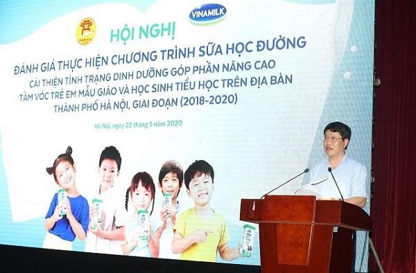Những kết quả tích cực ban đầu của Đề án Sữa học đường Hà Nội giai đoạn 2018-2020