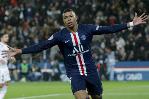 1. Kylian Mbappe (PSG - Giá trị chuyển nhượng: 180 triệu euro).