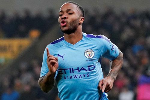 =2. Raheem Sterling (Man City - Giá trị chuyển nhượng: 128 triệu euro).