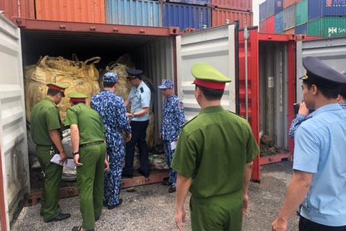 Hải Phòng: Bắt giữ 600 tấn quặng đồng nguyên khai trị giá 10 tỷ đồng