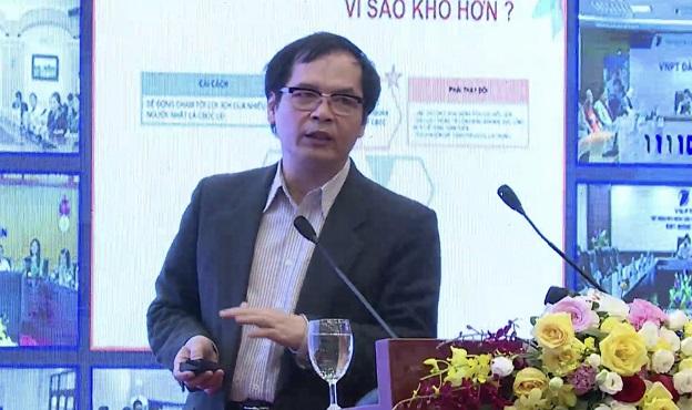 TS. Tô Hoài Nam: Cải cách thủ tục hành chính có thể sẽ động chạm đến lợi ích của cán bộ công chức