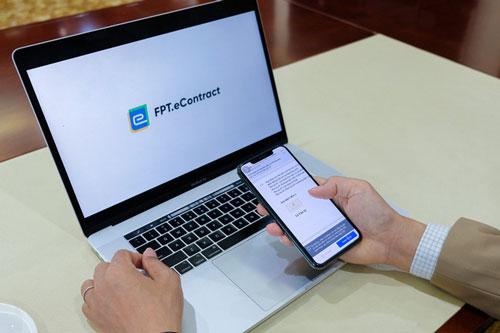 FPT.eContract - Hỗ trợ doanh nghiệp ký hợp đồng điện tử từ xa 24/7