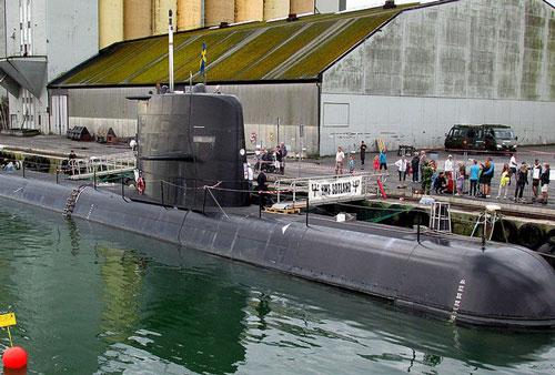 Hải quân Thụy Điển sở hữu tàu ngầm hiện đại nhất vùng Baltic