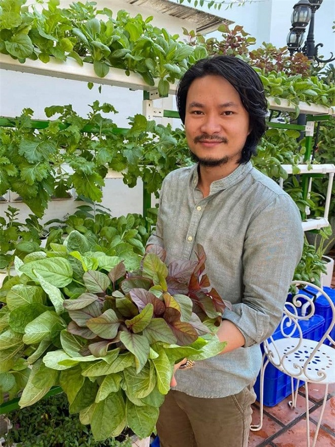 vườn rau của đạo diễn Hoàng Nhật Nam 1