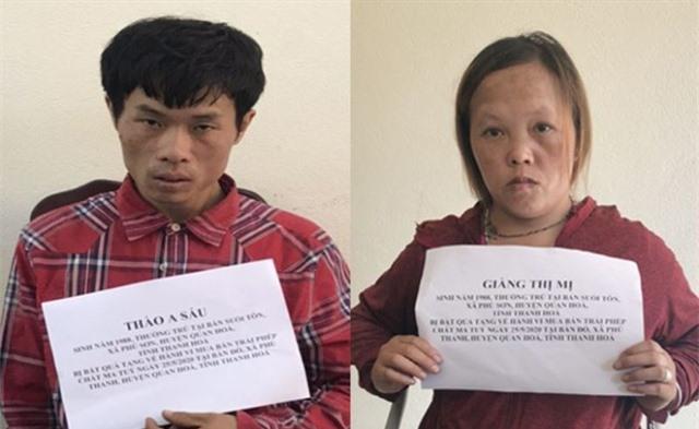 Đôi tình nhân buôn ma túy, chống đối quyết liệt lực lượng công an - 1