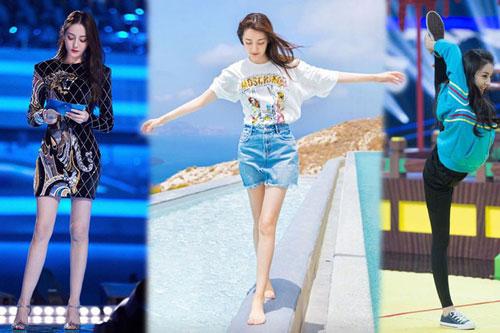 Top 9 mỹ nhân Hoa Ngữ sở hữu đôi chân cực phẩm: Gọi tên Dương Mịch, Địch Lệ Nhiệt Ba