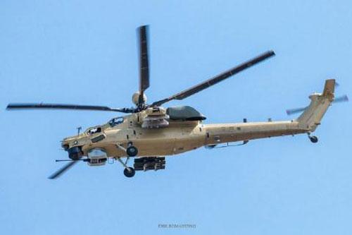 Trực thăng tấn công Mi-28NM.